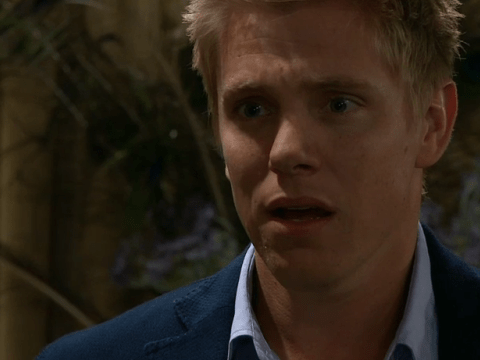 Emmerdale spoilers: Rebecca White tells Robert Sugden that he isn't Seb's father