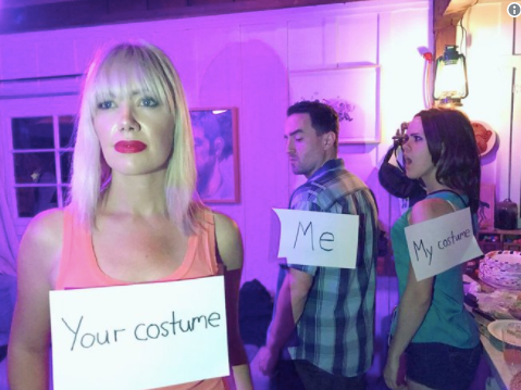 'Distracted Boyfriend' meme is the ultimate costume for Halloween 2017