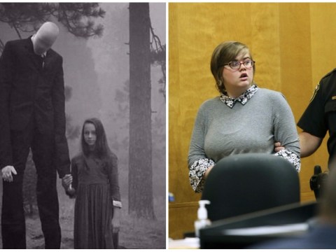 Girl who stabbed classmate 19 times to please Slender Man breaks down in court