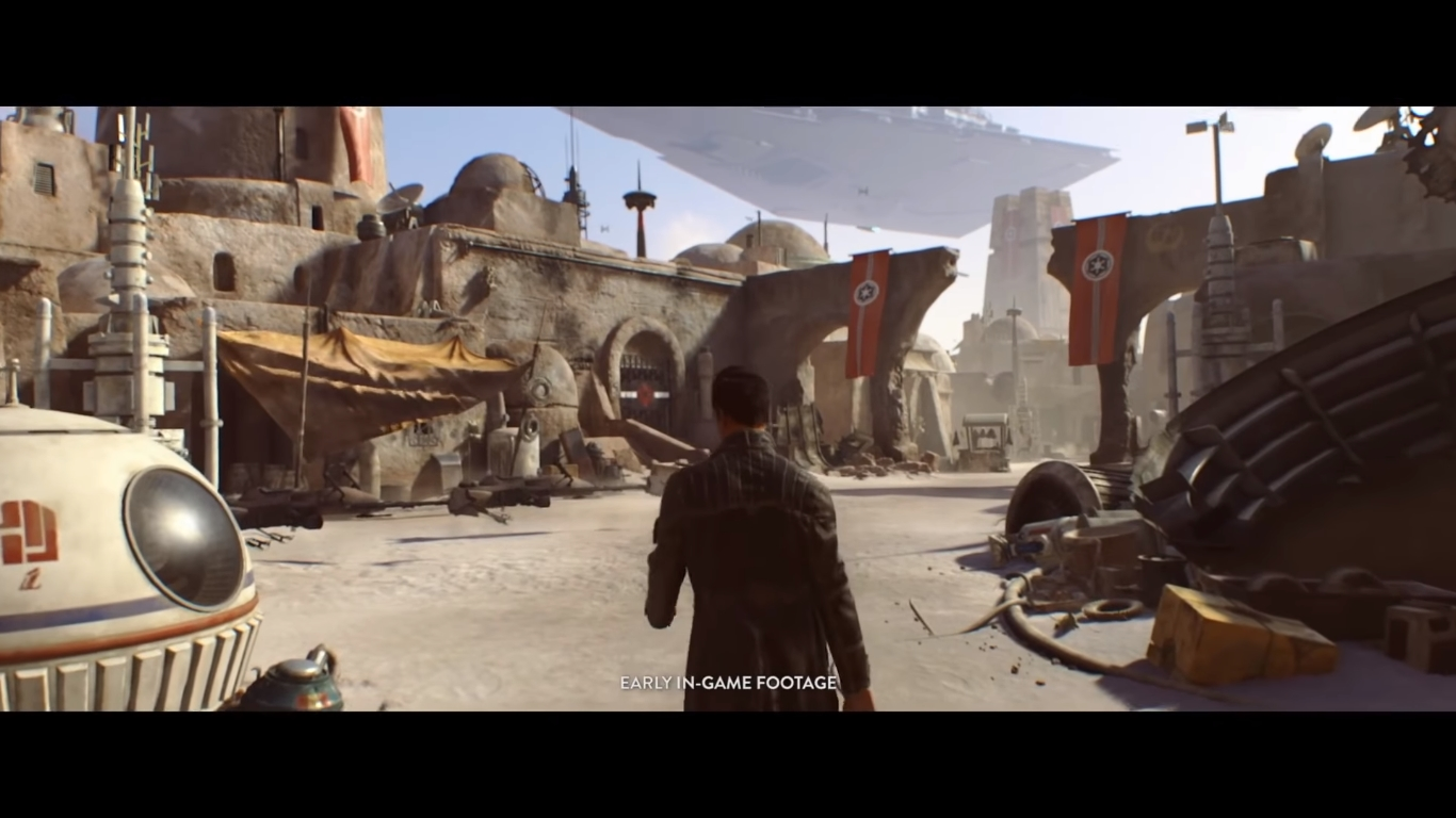 Will EA's new game still have the same setting as Visceral cancelled project?