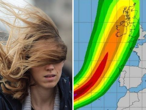 Hurricane Ophelia strengthens as it heads for UK