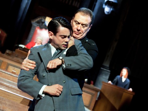 Witness for the Prosecution, County Hall, review: Thrilling theatre where the audience play the jury in actual courtroom