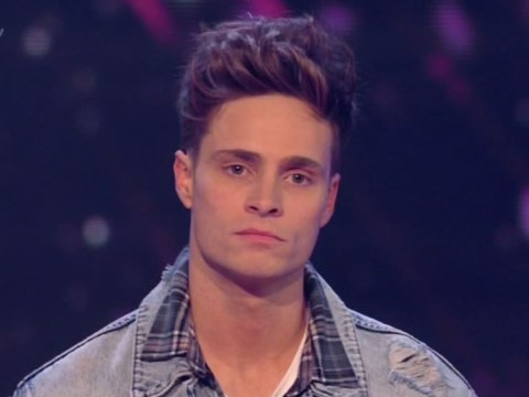 Spencer Sutherland is the first contestant to leave The X Factor live shows