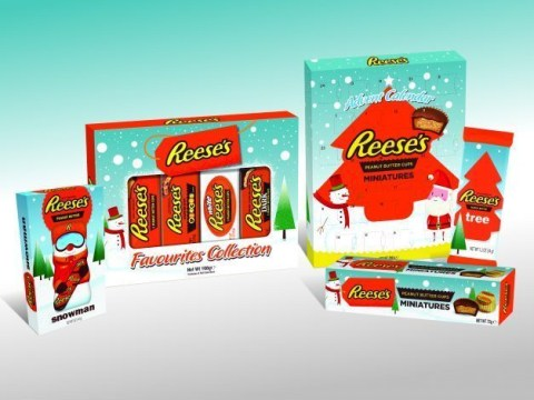 Peanut butter fans, rejoice: Reese's has released its very own Christmas range
