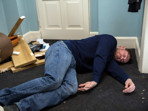 Emmerdale spoilers: Pete Barton left for dead after falling down his stairs