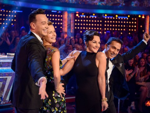 Who went out of Strictly last night as Alexandra Burke and Susan Calman fell into bottom two?