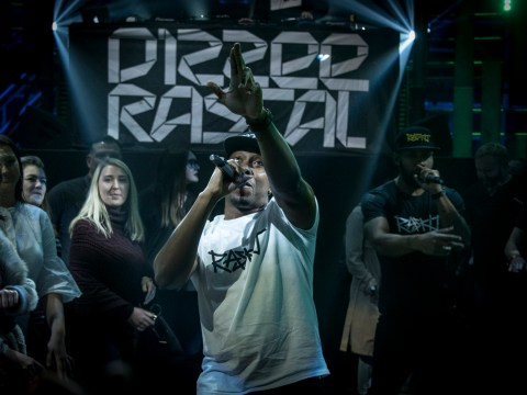 Dizzee Rascal dropped a casual motherf*** on Sounds Like Friday Night