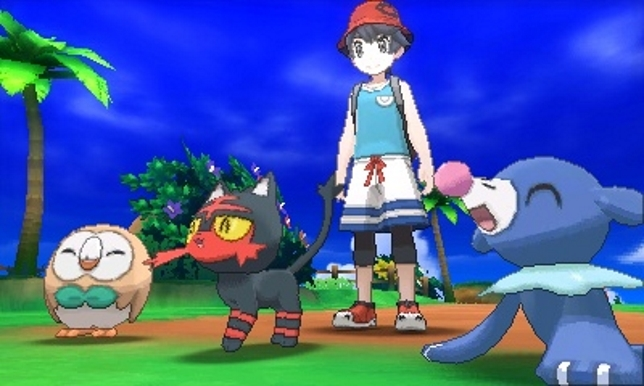 Image result for ultra sun starters in game