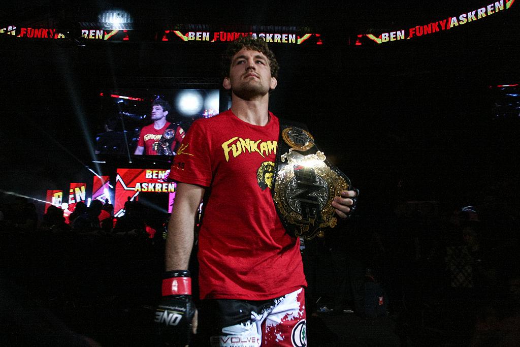 Unbeaten welterweight Ben Askren ready to fight Georges St-Pierre in Montreal