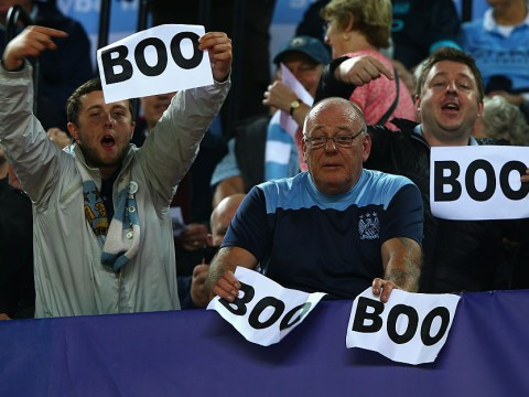 Why do Man City fans boo the Champions League anthem?