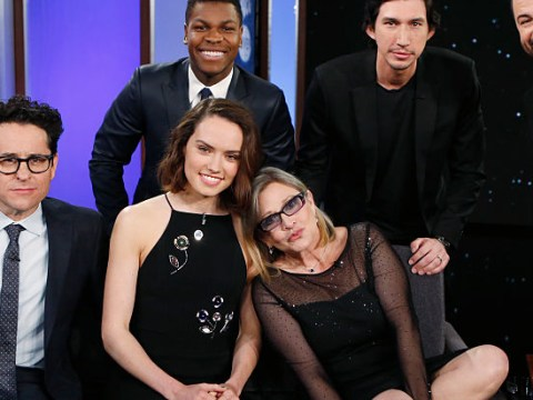 Daisy Ridley admits late Carrie Fisher helped her deal with pressures of sudden fame