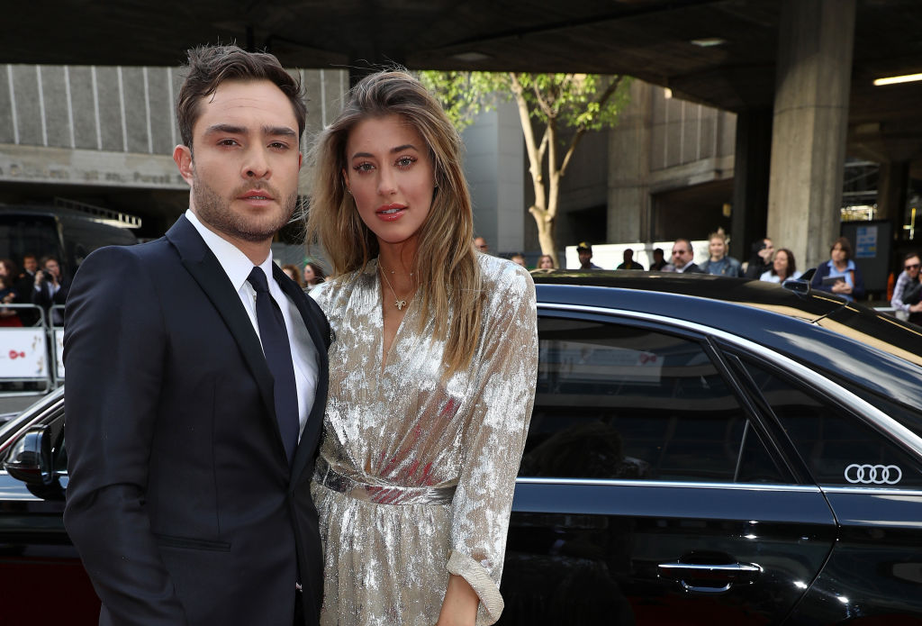Ed Westwick and girlfriend Jessica Serfaty 'looking at engagement rings' weeks before sexual assault claims