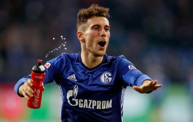 Leon Goretzka is likely to leave Schalke on a free next summer