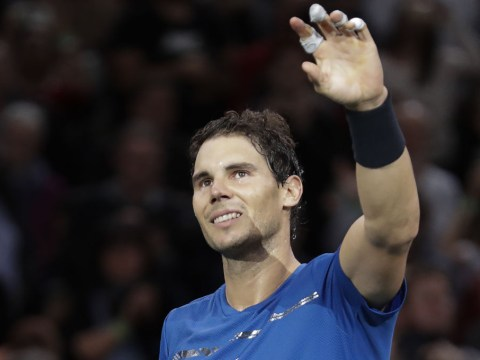 Rafael Nadal offers fitness update on his injured knee ahead of ATP Finals in London