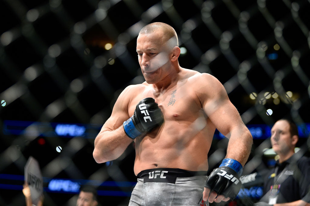 Luke Rockhold wants UFC champion Georges St-Pierre out of the middleweight division