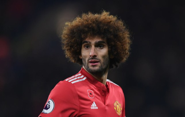 Marouane Fellaini close-up