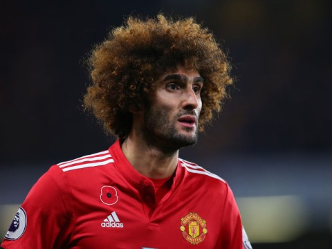 Marouane Fellaini a doubt for Manchester United's clash with Arsenal