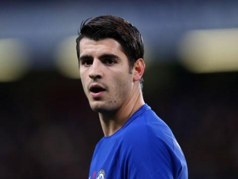 Alvaro Morata starts for Chelsea against West Ham