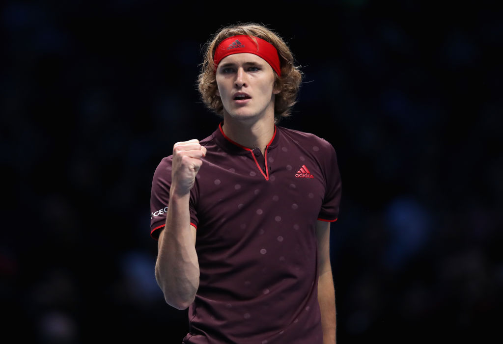 Alexander Zverev announces himself at the ATP Finals with battling win over Marin Cilic