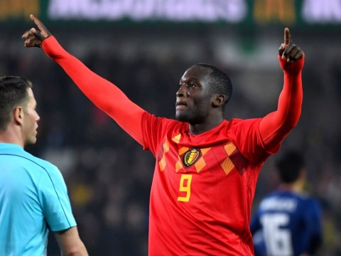 Manchester United striker Romelu Lukaku breaks Belgium goalscoring record at the age of 24