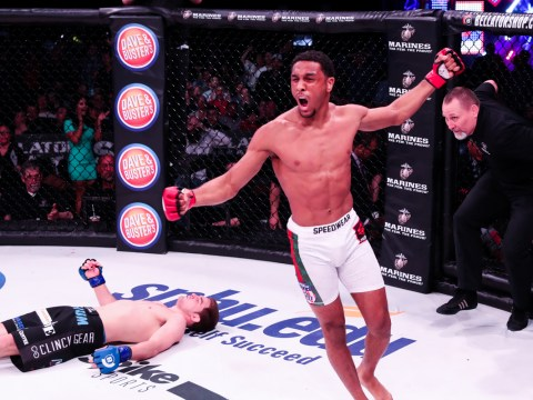 AJ McKee ready to go if James Gallagher gets up close during Bellator 187 fight week