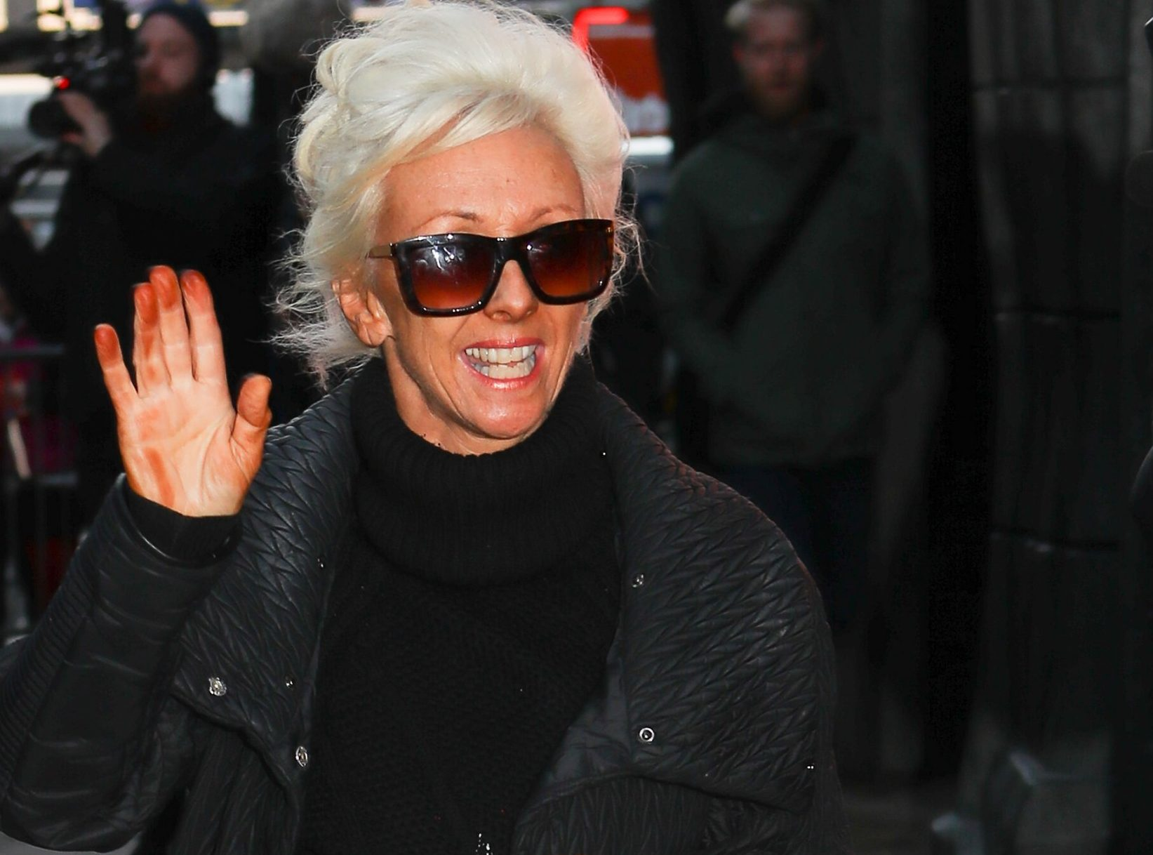 Debbie McGee's had a bit of a fake tan fail ahead of Strictly's Blackpool special