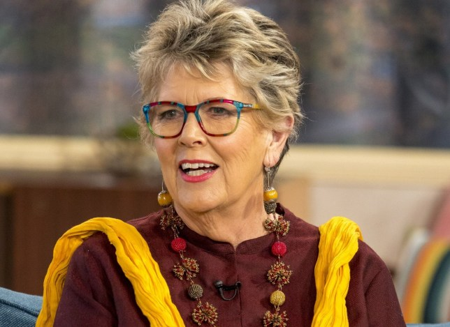 EDITORIAL USE ONLY. NO MERCHANDISING Mandatory Credit: Photo by Ken McKay/ITV/REX/Shutterstock (9236085x) Prue Leith 'This Morning' TV show, London, UK - 22 Nov 2017