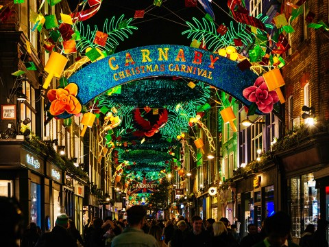Christmas 2017: When and where you can see the sparkliest Christmas lights this year in London