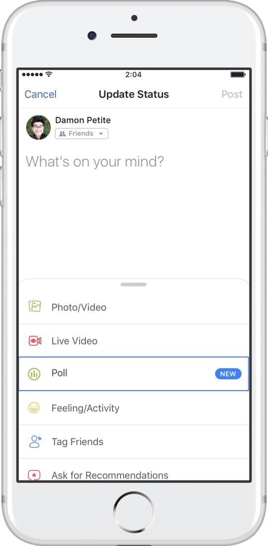 Facebook Polls update has arrived – here's how it works | Metro News