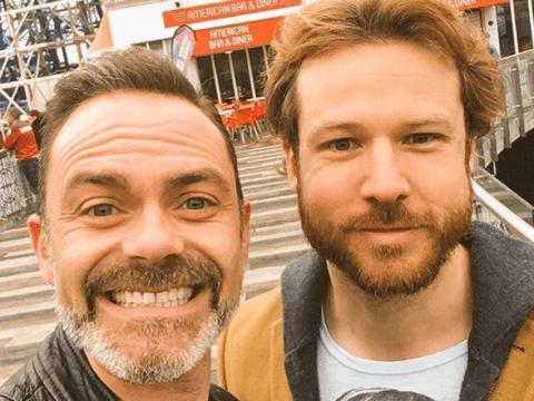 Coronation Street star Dan Brocklebank goes public with new boyfriend after Rob Mallard split