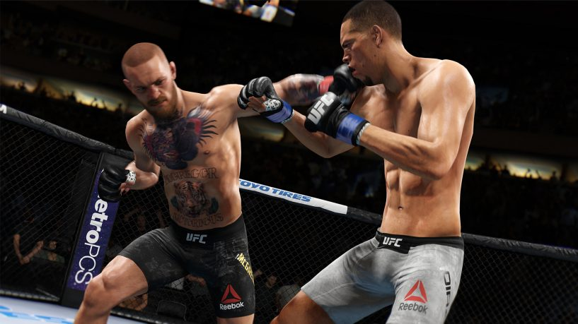 EA Sports UFC 3 - the graphics certainly have punch