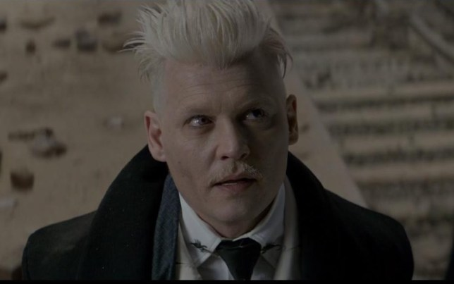 Fantastic Beasts Johnny Depp