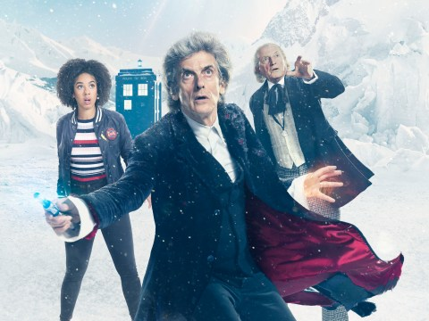 Peter Capaldi calls Steven Moffat 'one of Doctor Who's greatest writers' ahead of his final episode