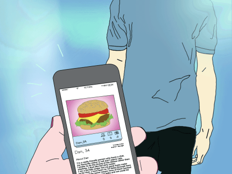 Talking about food on your dating profile makes you more attractive