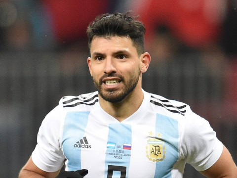 Sergio Aguero fainted in Argentina's dressing room due to blood pressure drop