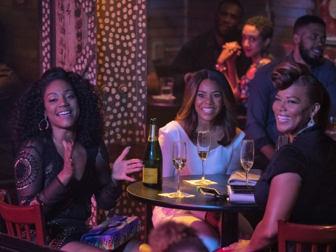 Tiffany Haddish jokes about the Girl's Trip cast in exclusive behind the scenes clip