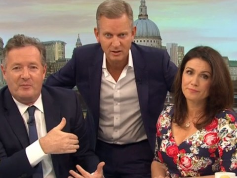 Jeremy Kyle invades the Good Morning Britain studio to settle Piers and Susanna's latest 'tiff'
