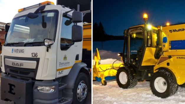 New council gritter could be called 'Gritsy Bitsy Teeny Weeny Yellow Anti-Slip Machiney'