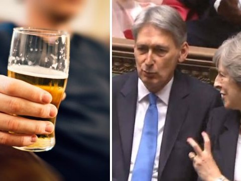 The price of a pint won't go up after the Budget today