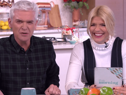 Holly Willoughby wants to release a Christmas single with Phillip Schofield
