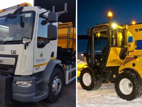 New council gritter named 'Gritsy Bitsy Teeny Weeny Yellow Anti-Slip Machiney'
