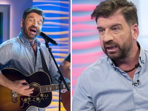 Viewers divided as Nick Knowles introduces his new singing career on live TV