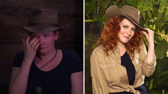 Viewers of I'm A Celeb support Jennie McAlpine as she gets extremely emotional in the Jungle