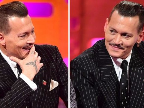 Johnny Depp causes confusion on Graham Norton Show as viewers reckon he was 'high or drunk'