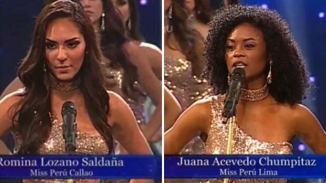 Beauty queens ditch reciting bust measurements to highlight violence against women