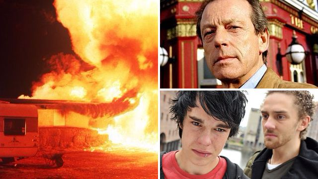 The most over the top twists ever to shock soap fans including EastEnders, Coronation Street, Emmerdale and Hollyoaks