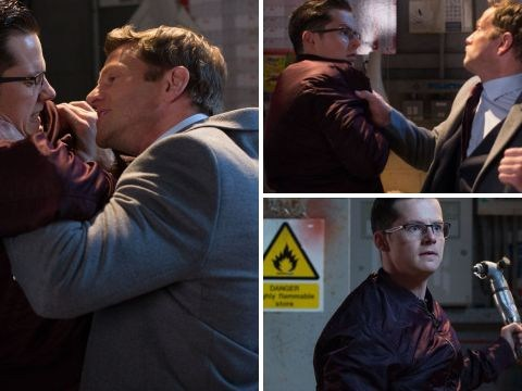 EastEnders spoilers: Horror violence for Ben Mitchell as Luke Browning savagely attacks him