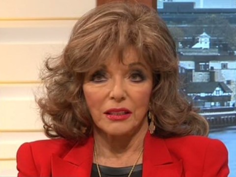 Joan Collins hits out at son's allegations about her ex-husband Anthony Newley