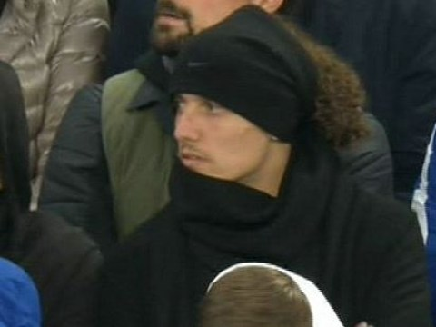 How did Chelsea's backline cope in David Luiz's absence against Manchester United?