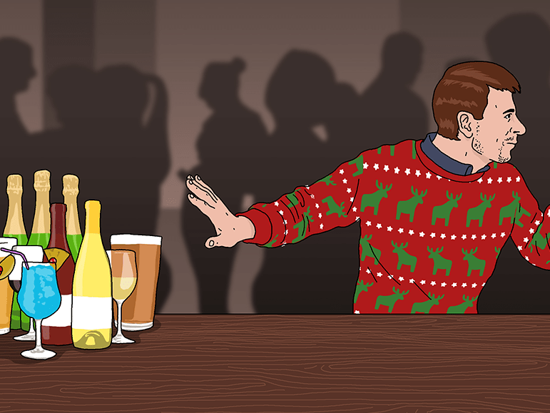 How to survive the party season if you're not drinking